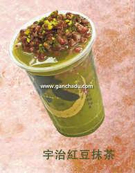 宇治红豆抹茶