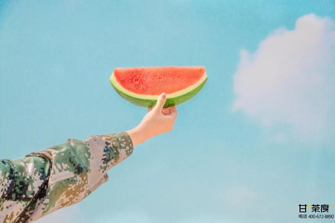 夏天出门的动力:甘茶度鲜活添活力