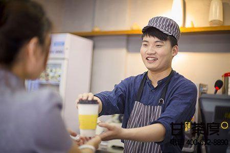 甘茶度奶茶的服务标准你知道哪些